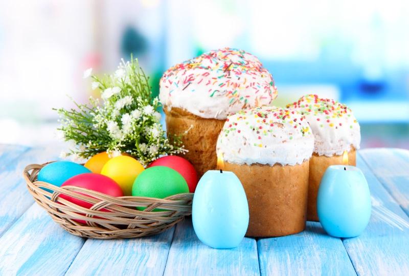 Рецепт небесной краски для яиц