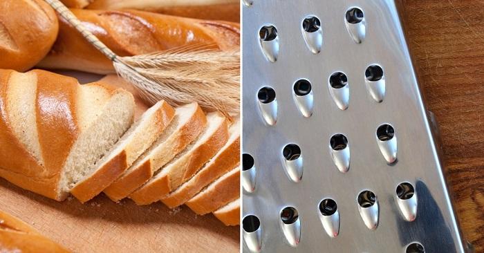 Зачем нужно натирать замороженный хлеб