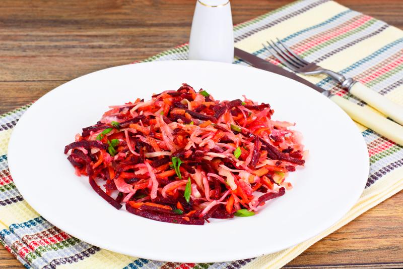 Какие салаты из свеклы можно есть на ночь
