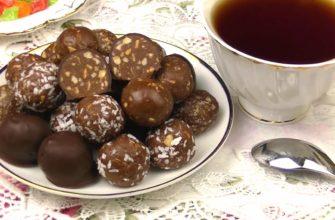 Домашние конфеты за 5 минут
