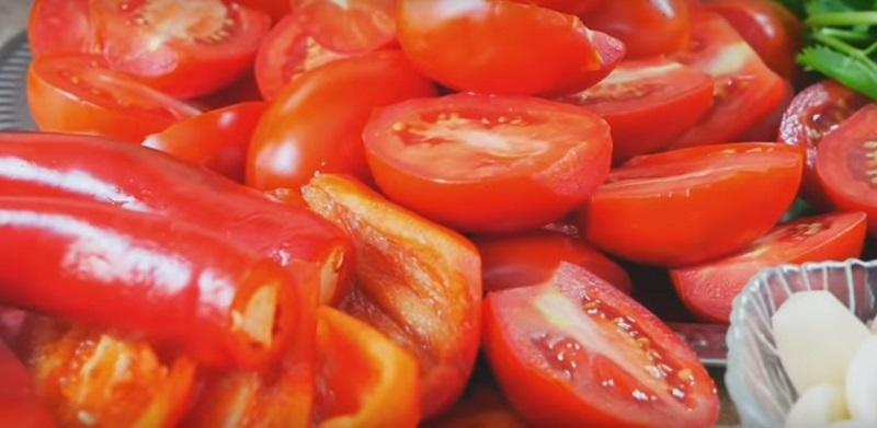 Цыганский рецепт аджики без варки