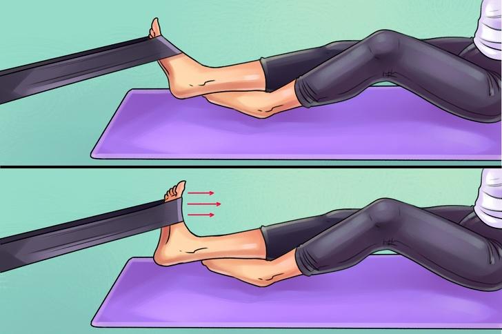 6 упражнений, которые помогут победить боль в коленях, ступнях и бедрах