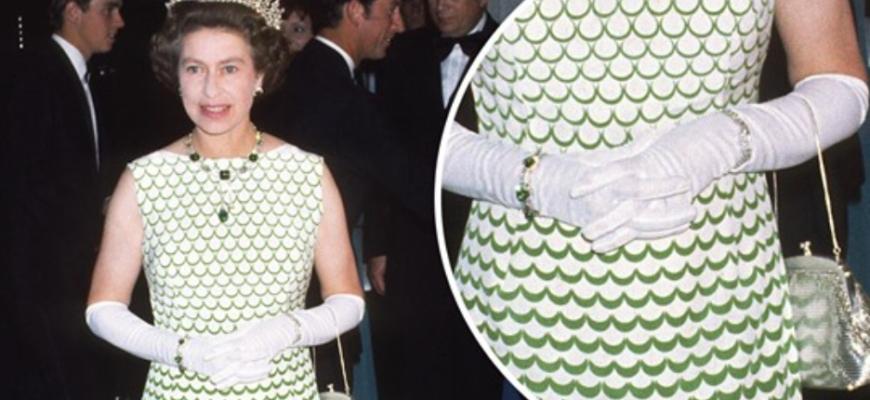 Наряды королевы Елизаветы до того, как она стала носить универсальный фасон