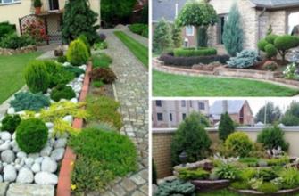 Идеи сада для ленивых (можно не ухаживать)