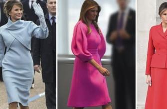 Икона стиля в статусе первой леди: 9 безупречных образов Меланьи Трамп
