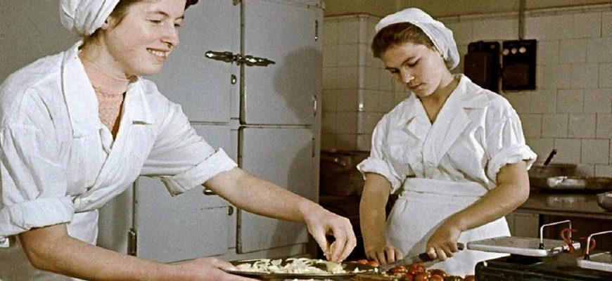 Что подавали в столовых во времена СССР