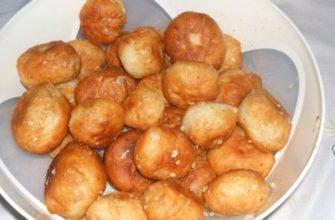 Рецепт чесночных пончиков — исчезают до того, как остынут
