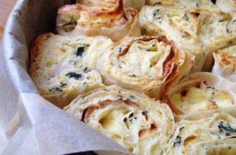 Рецепт слоеного пирога из лаваша с сыром