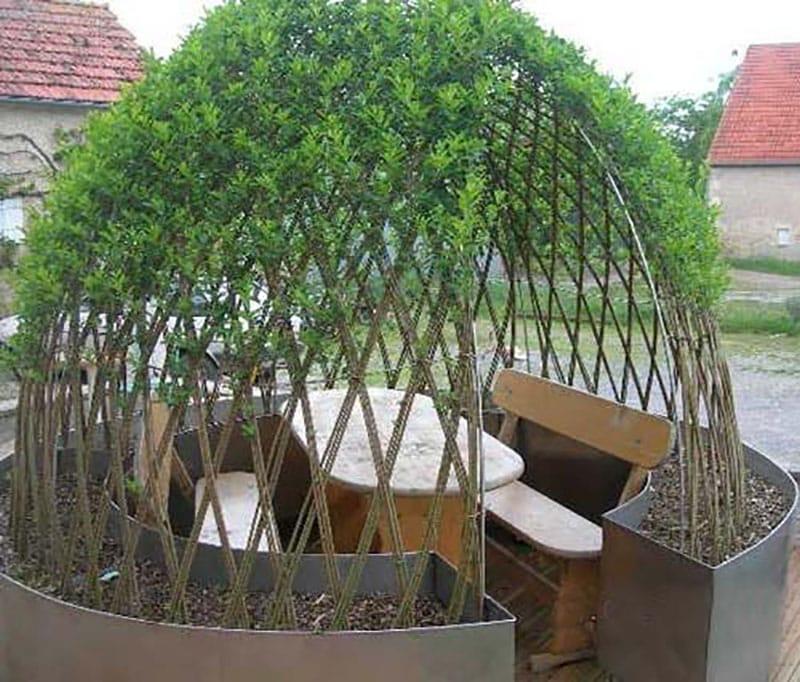 Идеи преображения сада с помощью самого простого и дешевого природного материала