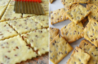 Как приготовить постное печенье с семенами льна: вкусное, хрустящее!