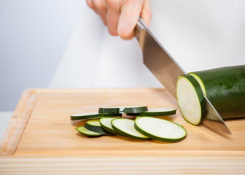 Жарка кабачков практически без масла и лишних усилий