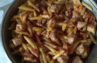 Интересный татарский способ приготовить макароны с мясом