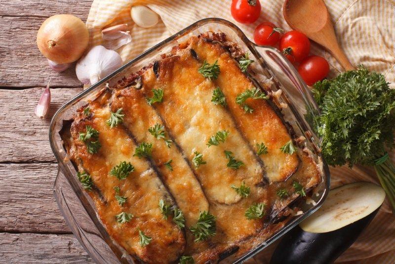 Горячий, как первый поцелуй, летний ужин: баклажаны по-итальянски