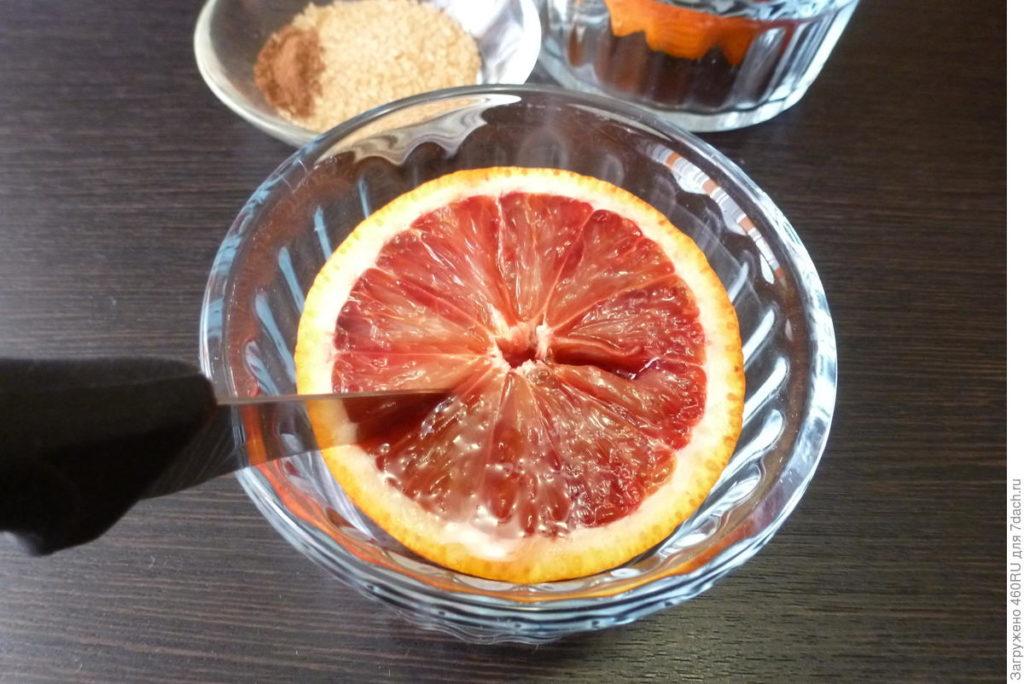 """Десерт """"Запечённый апельсин"""""""