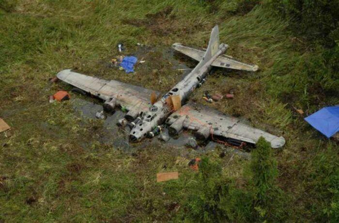 Исторические находки: где и как обнаруживали заброшенные самолеты времен Второй мировой войны