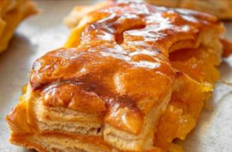 Рецепт хрустящего яблочного пирога от свекрови из Греции