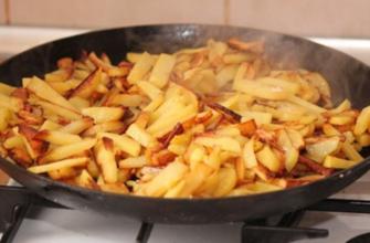 Хитрости приготовления идеального жареного картофеля