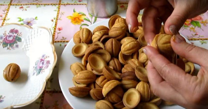 Как приготовить орешки со сгущенкой без орешницы. Любимое печенье по новому рецепту.