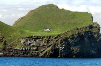 Интригующая история одинокого дома на необитаемом острове Исландии