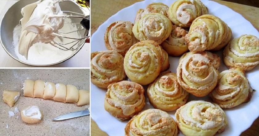 Как приготовить ароматное печенье в форме роз