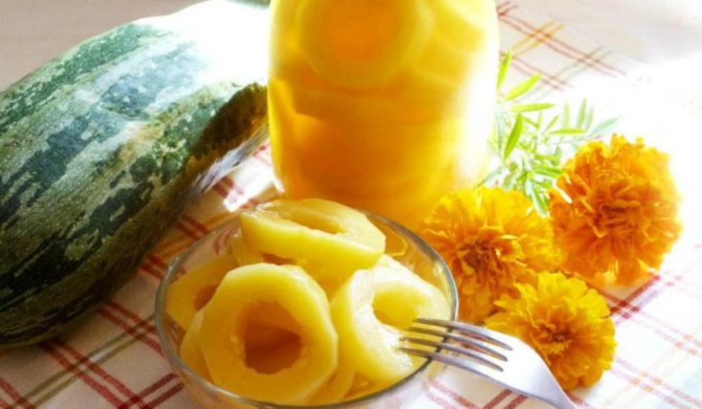 Классические ананасы из кабачков и можно ли отличить их от настоящих
