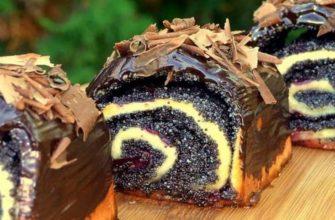 Пышные булочки с маком и вишней: невесомое мягкое тесто и изобилие начинки