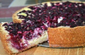 Этот рецепт ягодного пирога станет твоим любимым