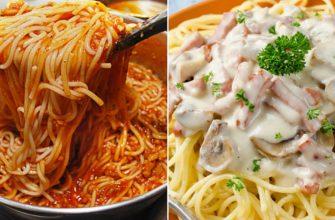 5 рецептов вкусной итальянской пасты: как в ресторане!