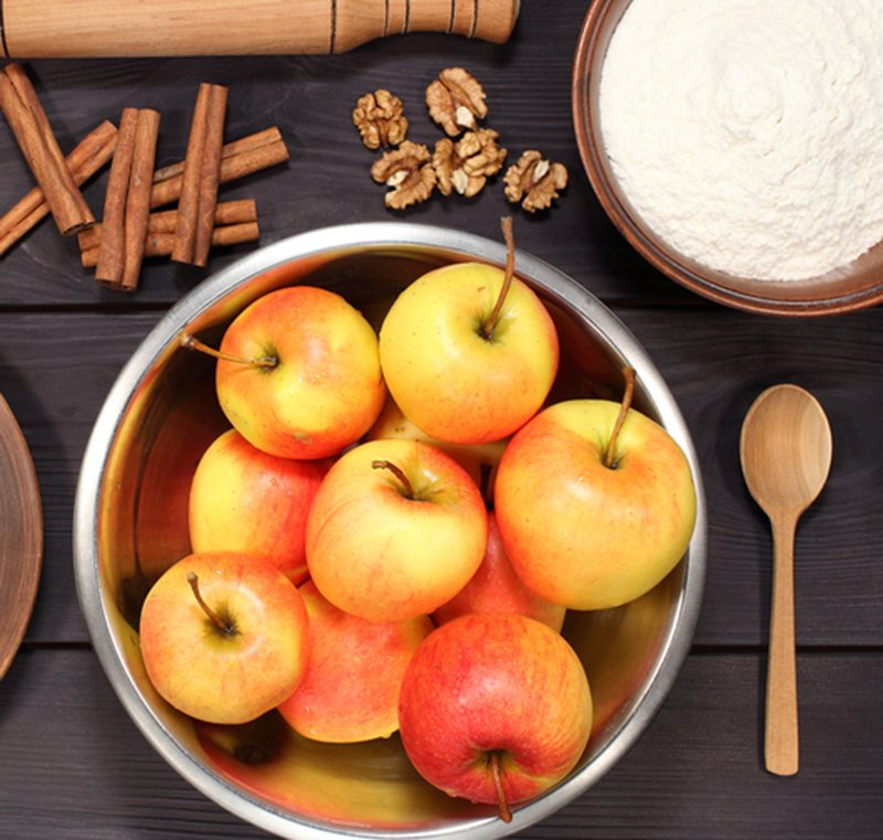 Бабушкина вертута с яблоками «Молдованка» по рецепту из справочника кондитера