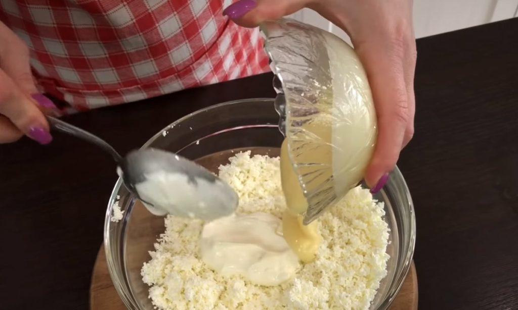 Как приготовить творожный торт с вишней
