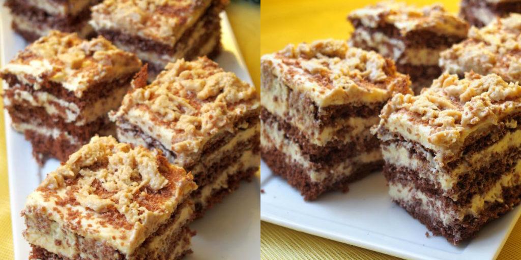 Как приготовить польский пирог «Халвовец»: нарядный, как торт! Угощение от щедрой хозяйки.