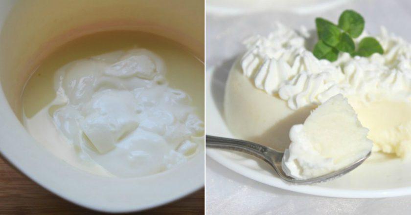 Как приготовить деликатный десерт из двух ингредиентов