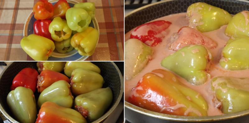 Как приготовить вкуснейшие фаршированные перцы. Понравились больше, чем классические с рисом.