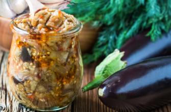 10 рецептов заготовок из баклажанов на зиму