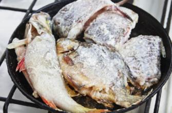 Технология жарки рыбы без мытья сковороды