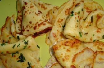 Как приготовить тонкие картофельные блины
