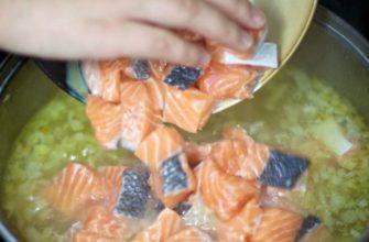 Картофельный суп со сливками и красной рыбой: вкуснятина необыкновенная