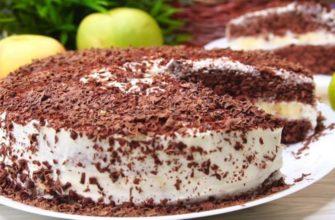 Рецепт трехслойного торта за 10 минут (у неопытной хозяйки уйдет 20)