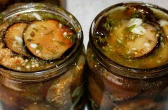 Пикантные баклажаны с чесноком и орехами: островато-пряная вкуснятина покорит всех за столом!