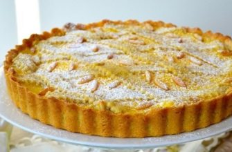 Рецепт итальянского пирога «Бабушкин торт»