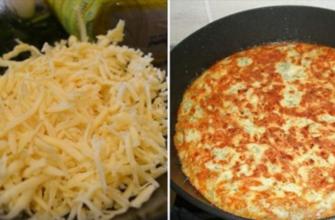 Рецепт быстрых хачапури на сковороде