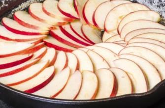 Простой пирог с яблоками по французскому рецепту, после которого хозяйки не пекут шарлотку