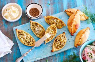 Татарские картофельные пирожки беренге тэкесе