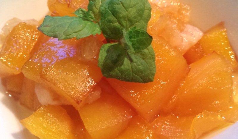 Рецепт тыквы в карамели