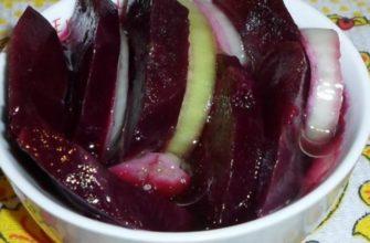 Как вкусно замариновать свеклу: простая закуска в греческом стиле
