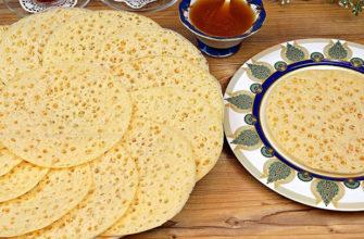 Блинчики 1001 дырочка, родом из Марокко: вкуснятина на манной крупе