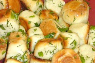 Балабушки с чесноком по-полтавски: к борщу — пища богов!