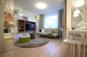 Молодежь переделала «хрущевку-однушку», доставшуюся в наследство, в стильную 2-комнатную квартиру
