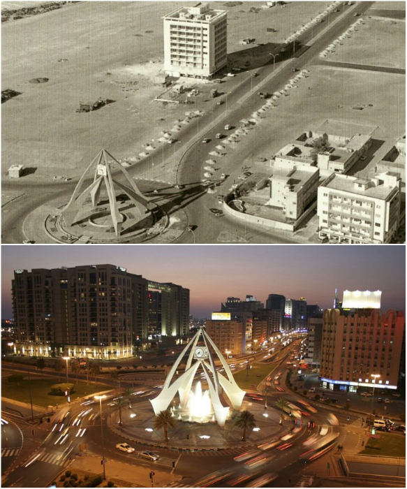 Разница налицо, или чего достиг Дубай за последние 50 лет