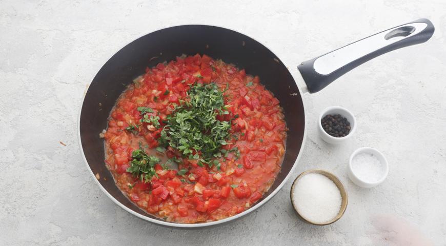 Запеканка из кабачков с сыром и помидорами (Gâteau de courgettes)